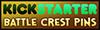 Battle Crest Pins Supporter